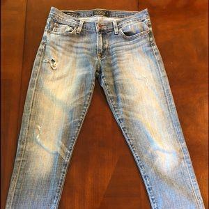 Luck Brand Sienna Cigarette Jeans
